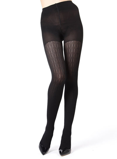 be1601fd9 MeMoi Firmfit Diamonds Link Control Top Tights ...