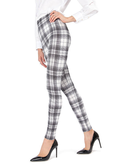 MeMoi Gaban Tartan Shaping Legging