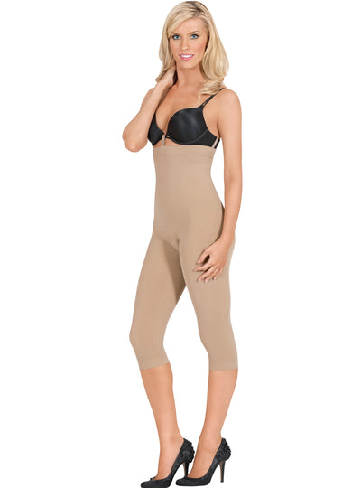 Euroskins Seamless High Waist Capri Shaper