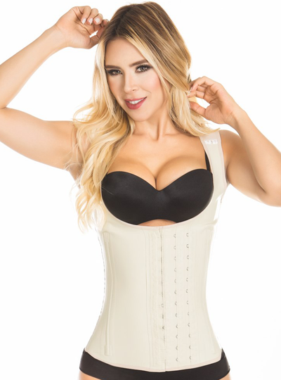 Aranza Latex Waist Trainer Cincher Vest Steel Boned Corset