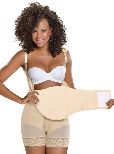 Fajas M & D Abdominal Flattening Board After Liposuction (Adjustable)