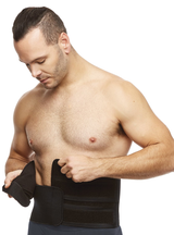 "Clearpoint Medical 9"" Dual Flap Abdominal Binder"