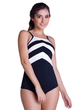 Curveez Swimwear Body Molding One Piece Bathing Suit