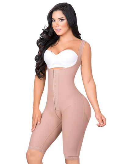 Jackie London Bodyshaper largo con tirantes anchos
