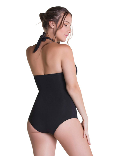 Curveez One Piece Bathing Suit Strapless