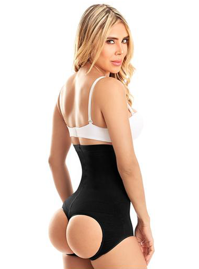 Laty Rose Butt Lifter Body Shaper Shorts With Holes