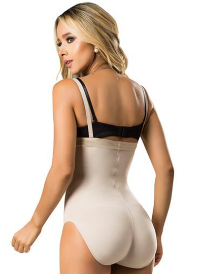 Laty Rose Strapless Butt Lifter Shapewear Bodysuit