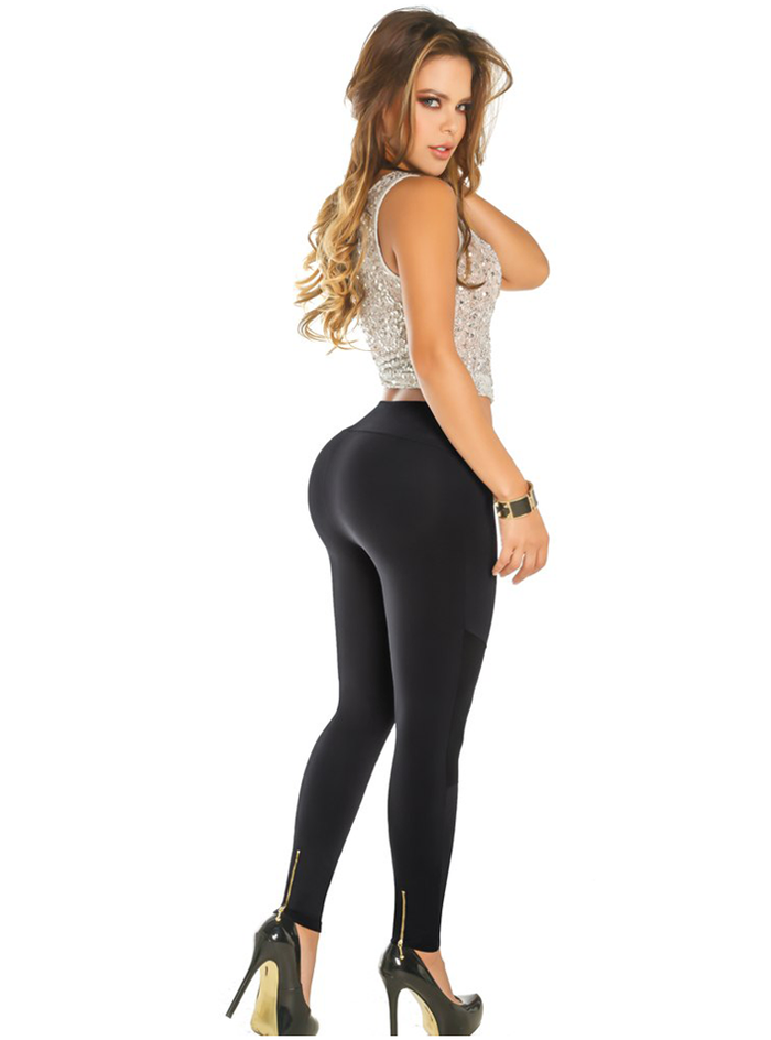 452bf3751a1 ... Aranza Women s Butt Lifting Leggings High Waisted with Body Shaper  Inside Push UP Colombian Leggings ...