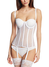 Carnival Full Coverage Sheer Torsolette