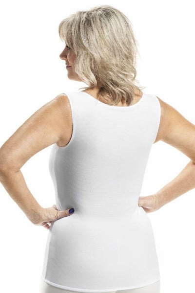 Wear Ease Torso Compression Vest For Relief From Swelling From Edema And Lymphedema