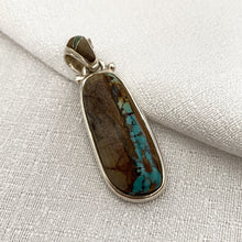 Stone • Boulder Turquoise Pendant Two