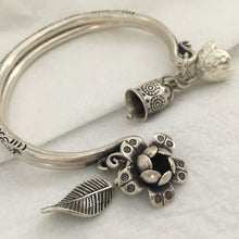 Hill Tribe • 5th Dancer's Dangly Bangle w/ Charms
