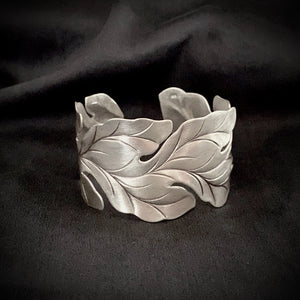 Hill Tribe • Akha Leaf Cuff in Small