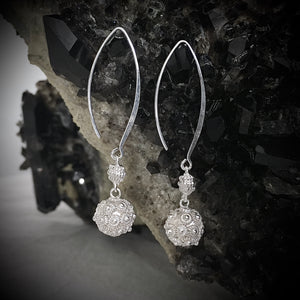 Blanc • Nala Ball Drop Earrings