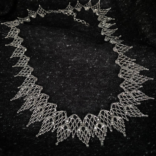 Lace • Classic Lao Lace Point Necklace