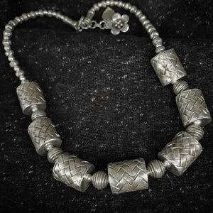 Hilltribe • Classic Akha Weave Necklace