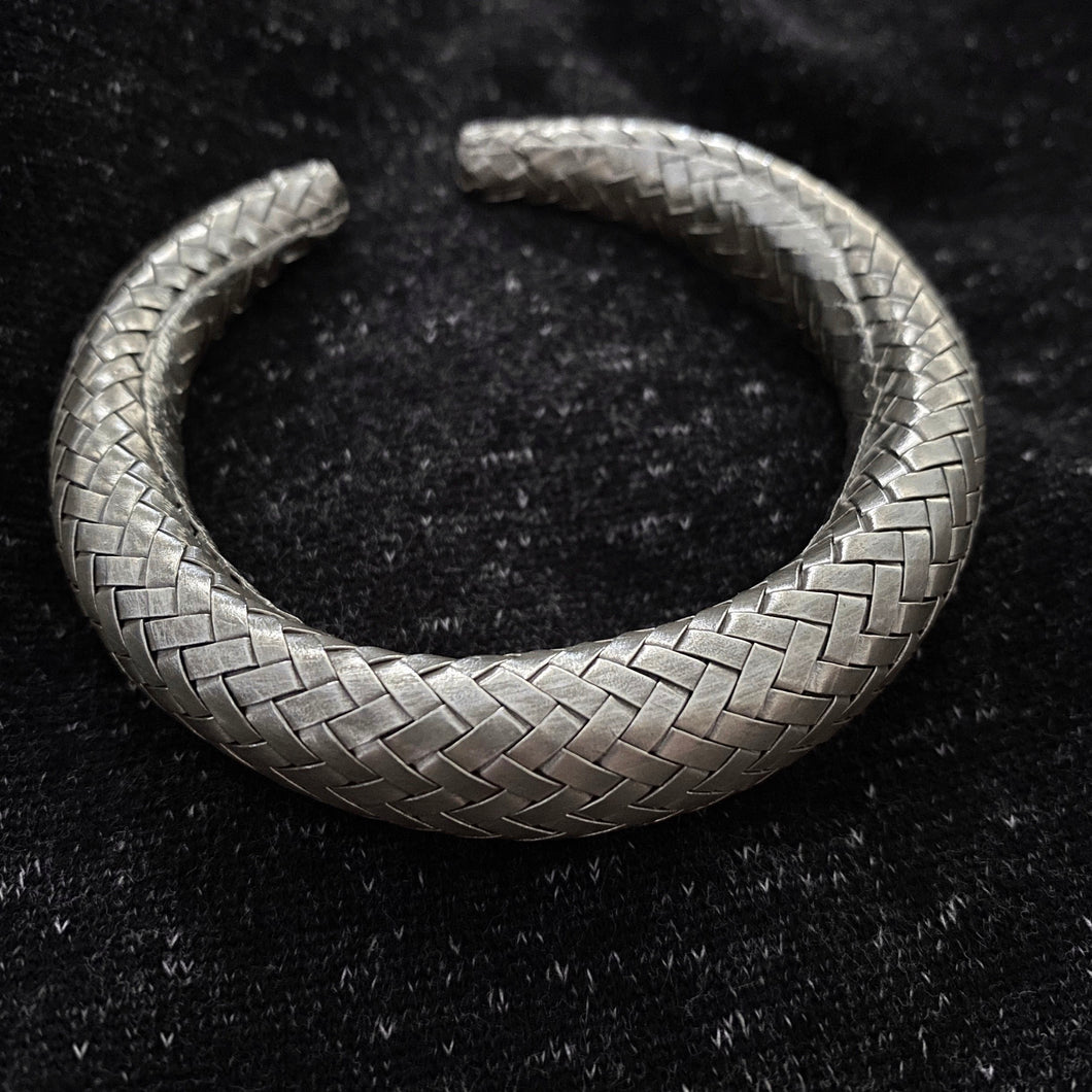 Hill Tribe • The Champa Weave Bangle in Large