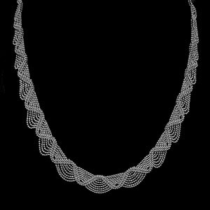 Lace • Classic Lao Necklace w/ Zig Zag