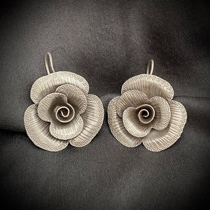 Hill Tribe • Rose Phikoun Earrings