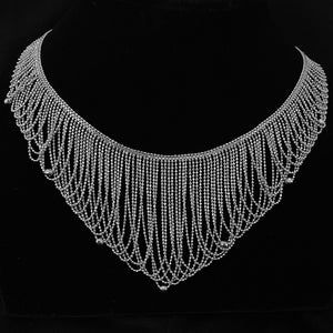 Lace • Classic Lao Lace Flow Necklace