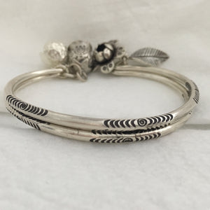 Hill Tribe • 1st Dancer's Dangly Bangle w/ Charms