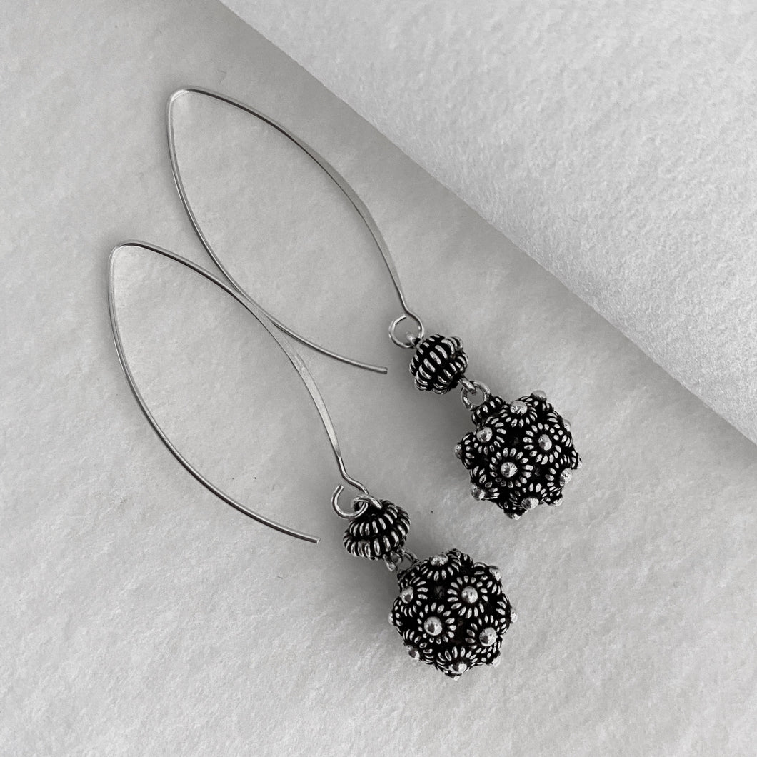 Noir • Nala Ball Drop Earrings
