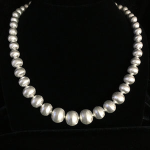 Hill Tribe • Mekong Fine Silver Bead Necklace