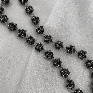 Noir • Classic Phikoun Bead Necklace
