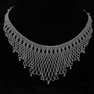 Lace • Classic Lao Lace Savan Necklace