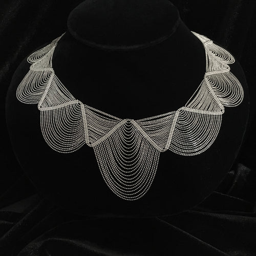 Lace • Classic Lao Lace Queen Necklace