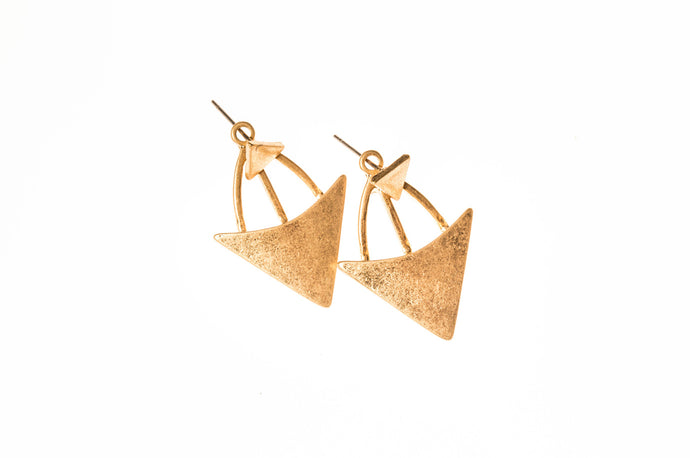 Two Part Geometric Earrings