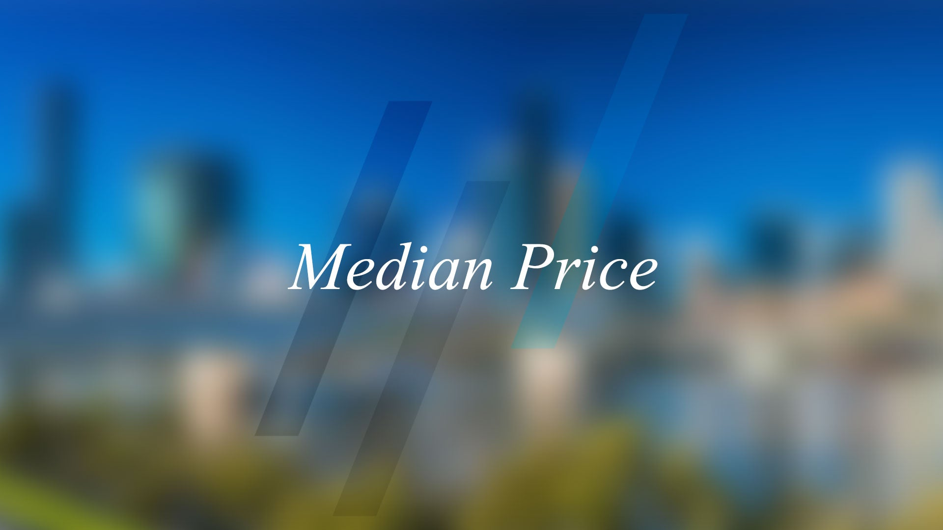Median Price - What is it and why is it important?