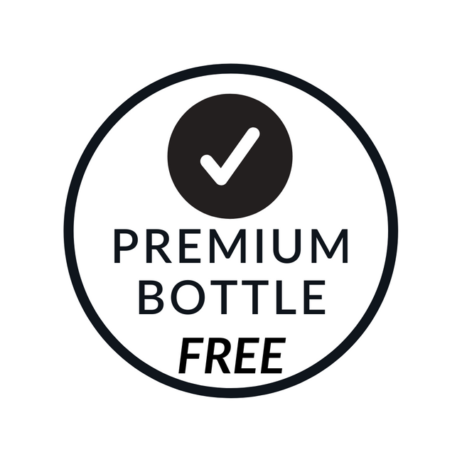 FREE Premium Bottle Upgrade (Value $19.99)