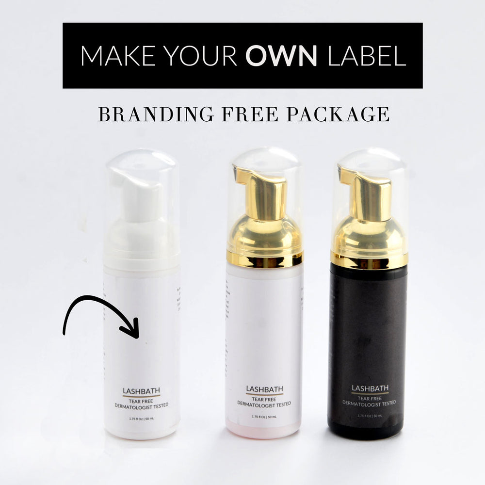 LASHBATH Bare Edition™ Branding Free Package (Make your own label)