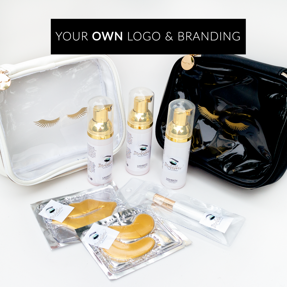 LUXXY After Care Kit (5 kits with your own logo)