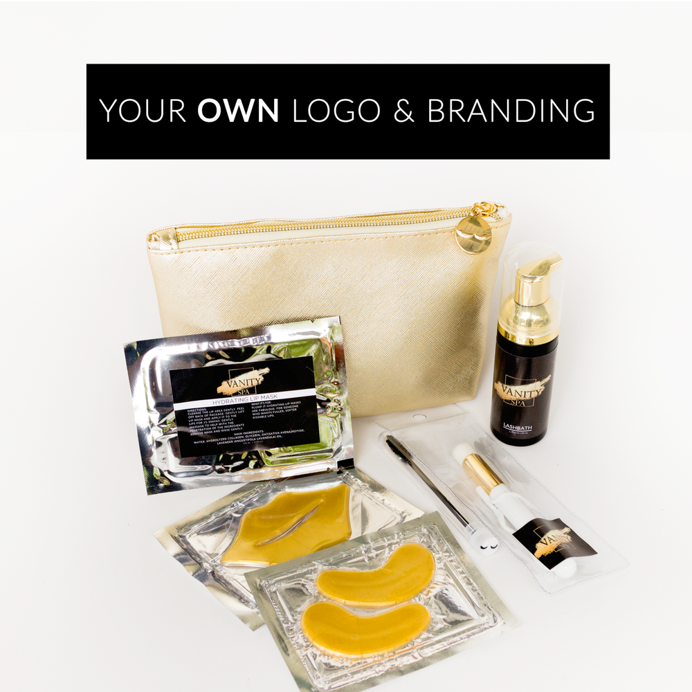 GLAM After Care Kit (5 kits with your own logo)
