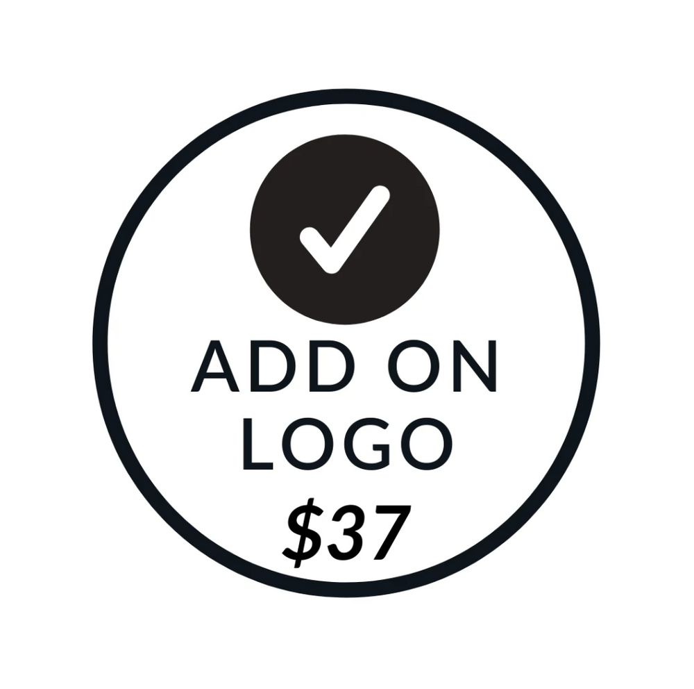 ADD ON LOGO ($37)