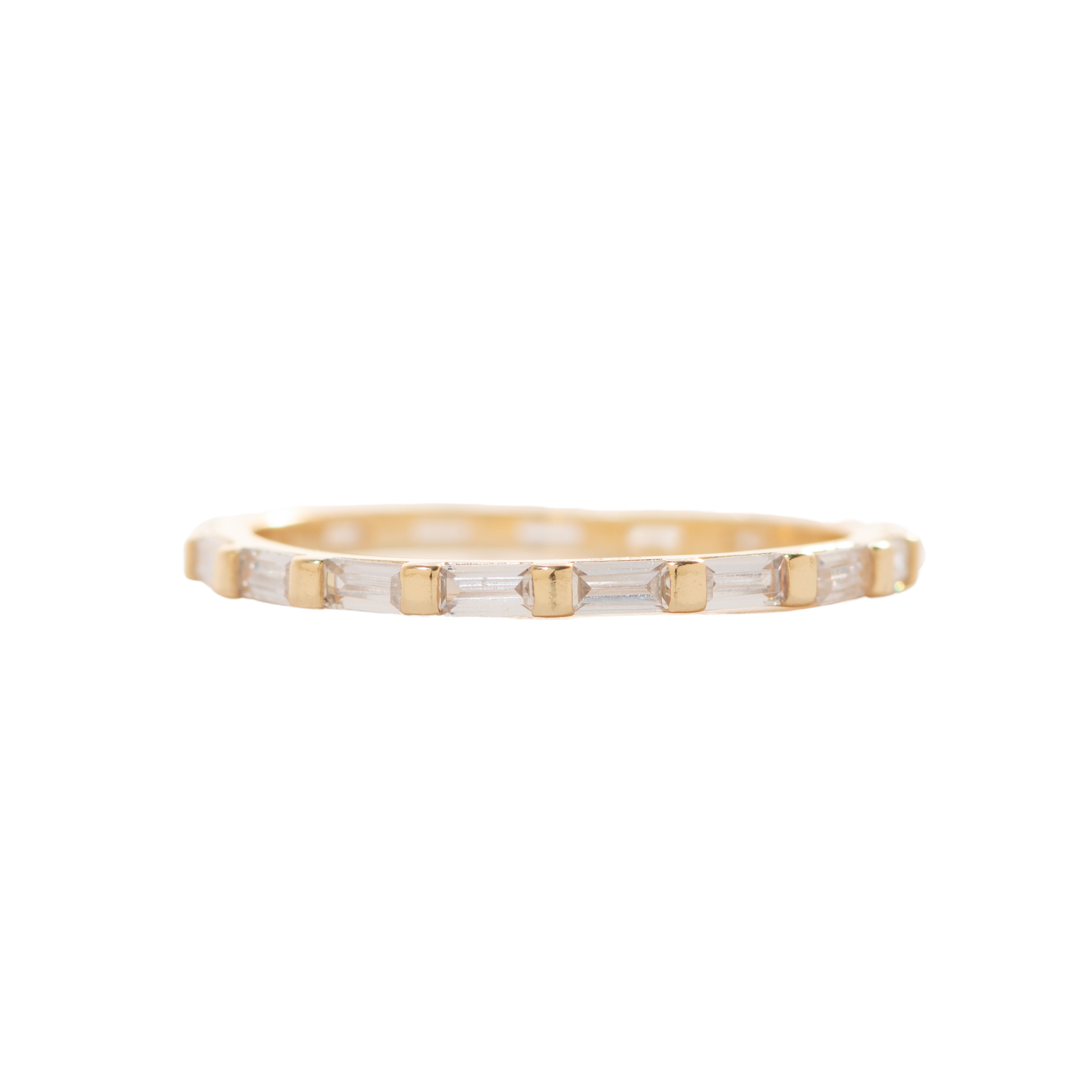 Baguettes for Eternity Ring
