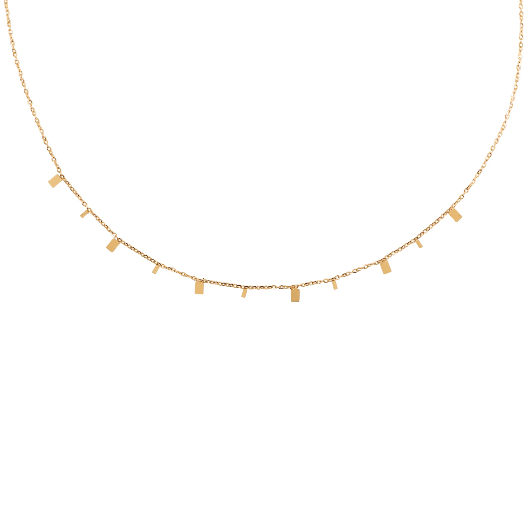 Rectangle Delicate Necklace