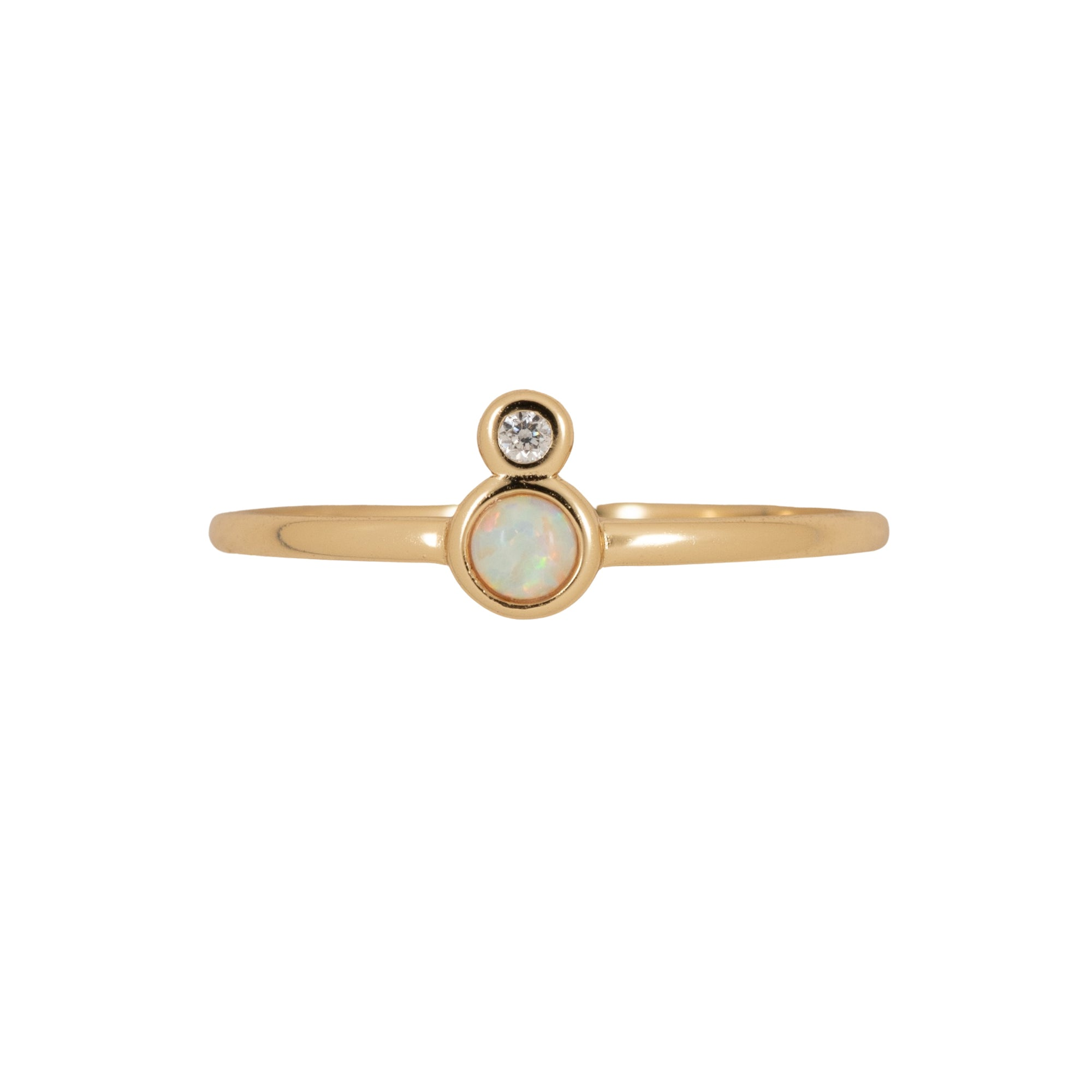Simple Opal Ring