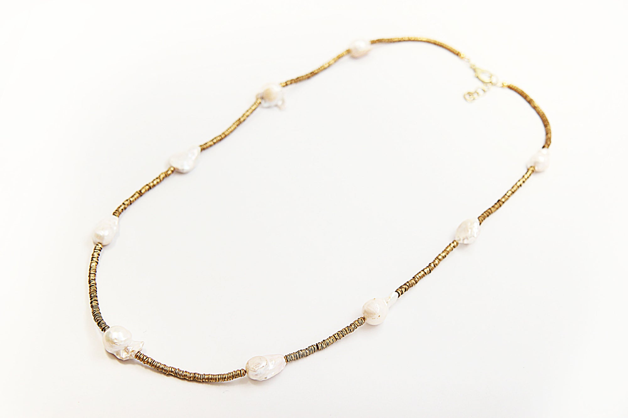 Marina Baroque Pearl Necklace