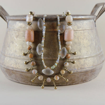 Nila Beads and Ancient Glass Bicones