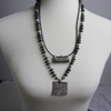 Antique Silver Pendant Necklace