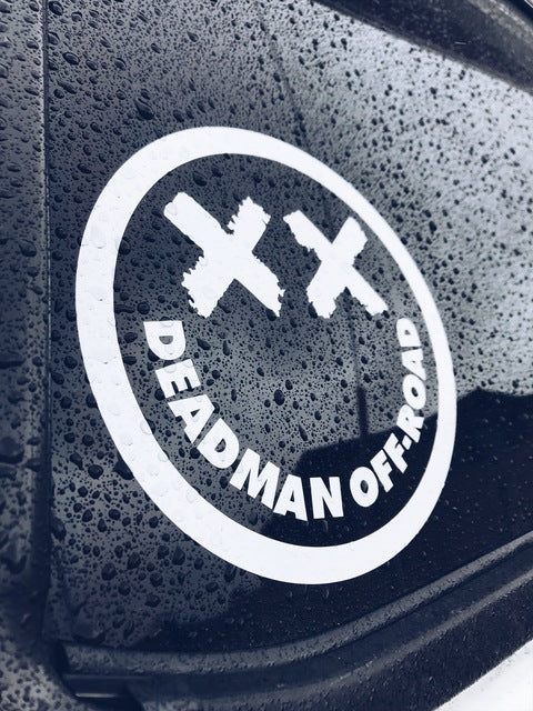 Deadman Off-Road Transfer sticker