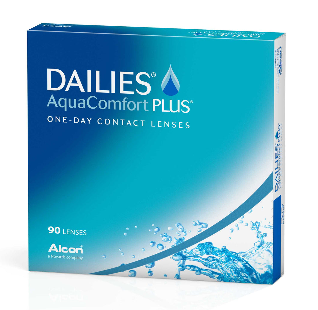DAILIES Aquacomfort Plus (90 Pack) Contact Lenses
