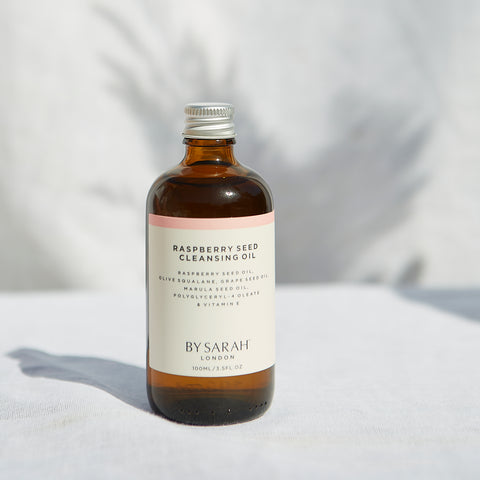 By Sarah London raspberry seed cleansing oil