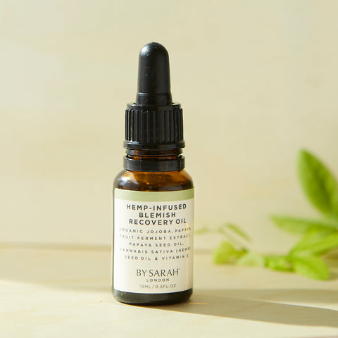 by Sarah London blemish recovery oil