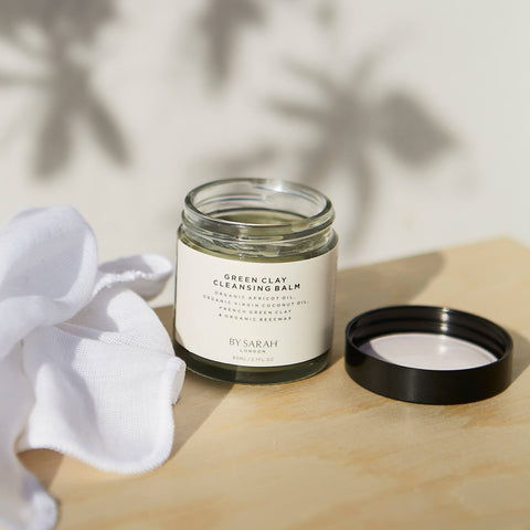 By Sarah London Green Clay Cleansing Balm
