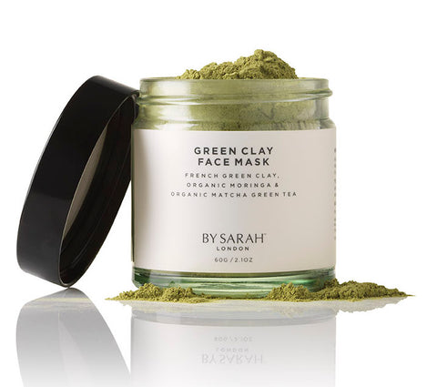 BY SARAH LONDON - Green Clay Face Mask ingredients