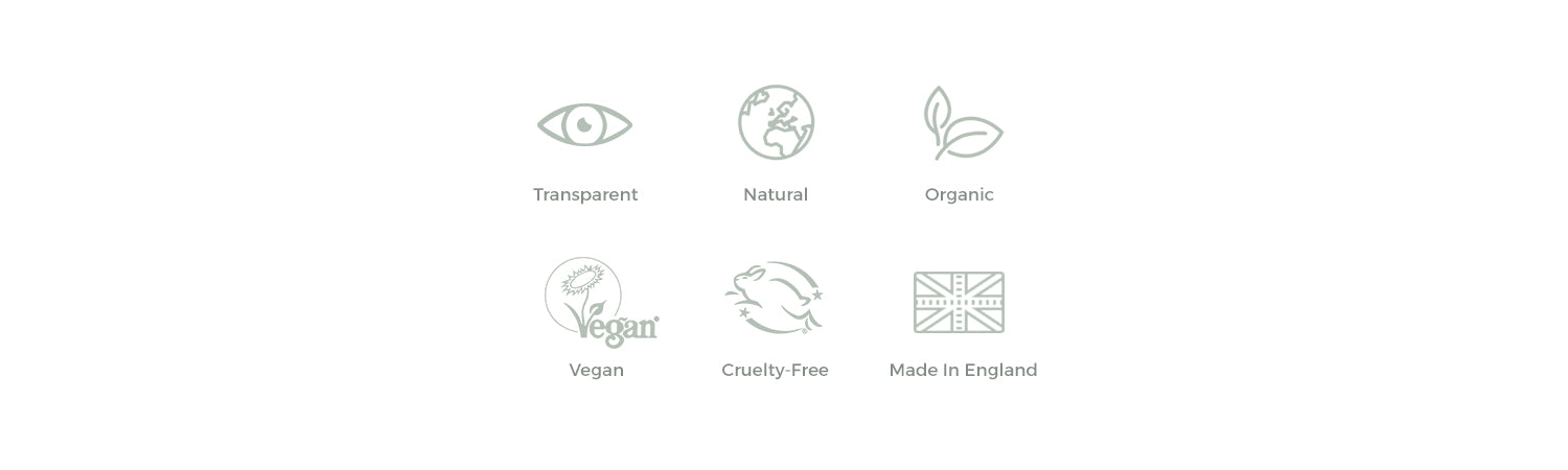 BY SARAH LONDON - Transparent, natural, organic, vegan and cruelty free skincare hand-blended in the UK